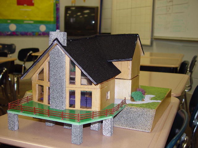Dream house project retired mr reetz 39 s class How to make your dream house